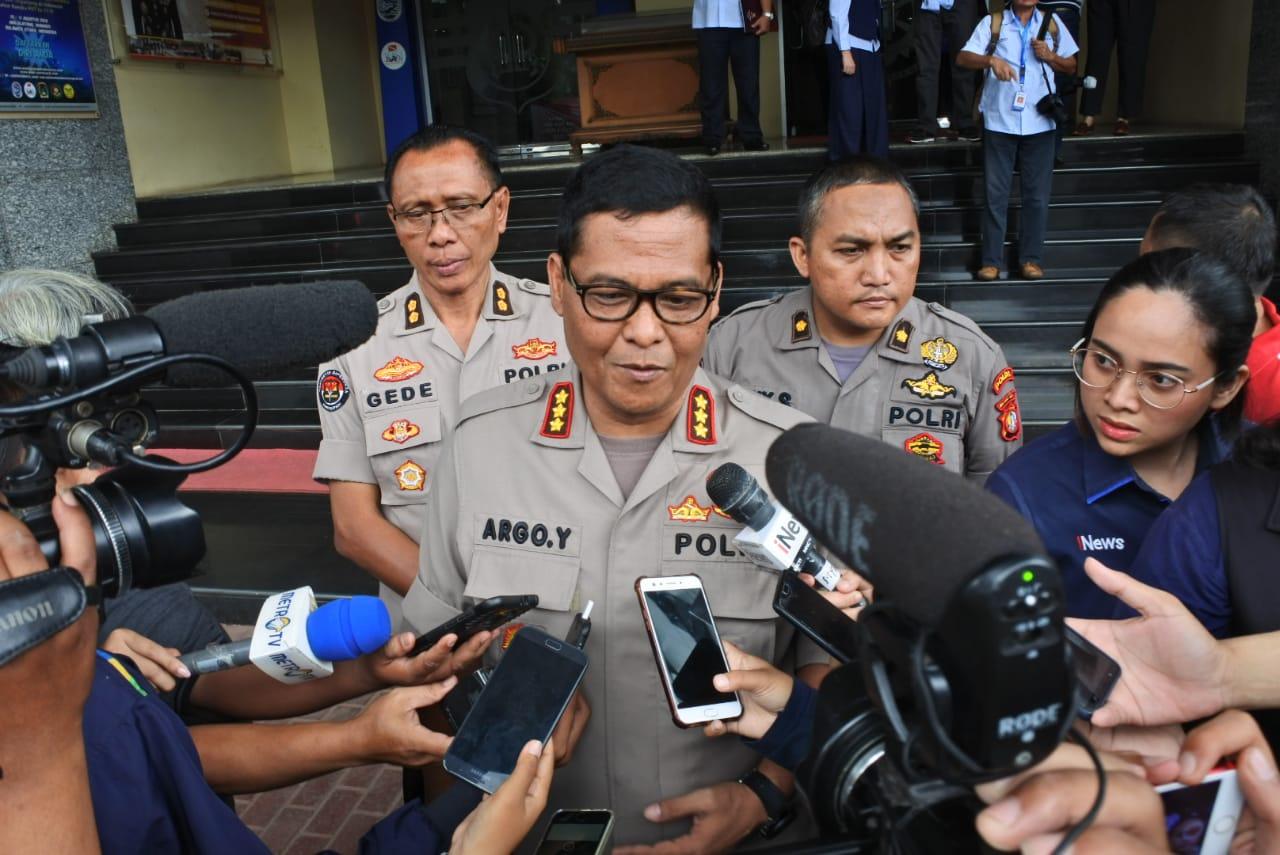 Kabid Humas Polda Meteo Jaya Kombes Pol Argo Yuwono di Polda Metro Jaya