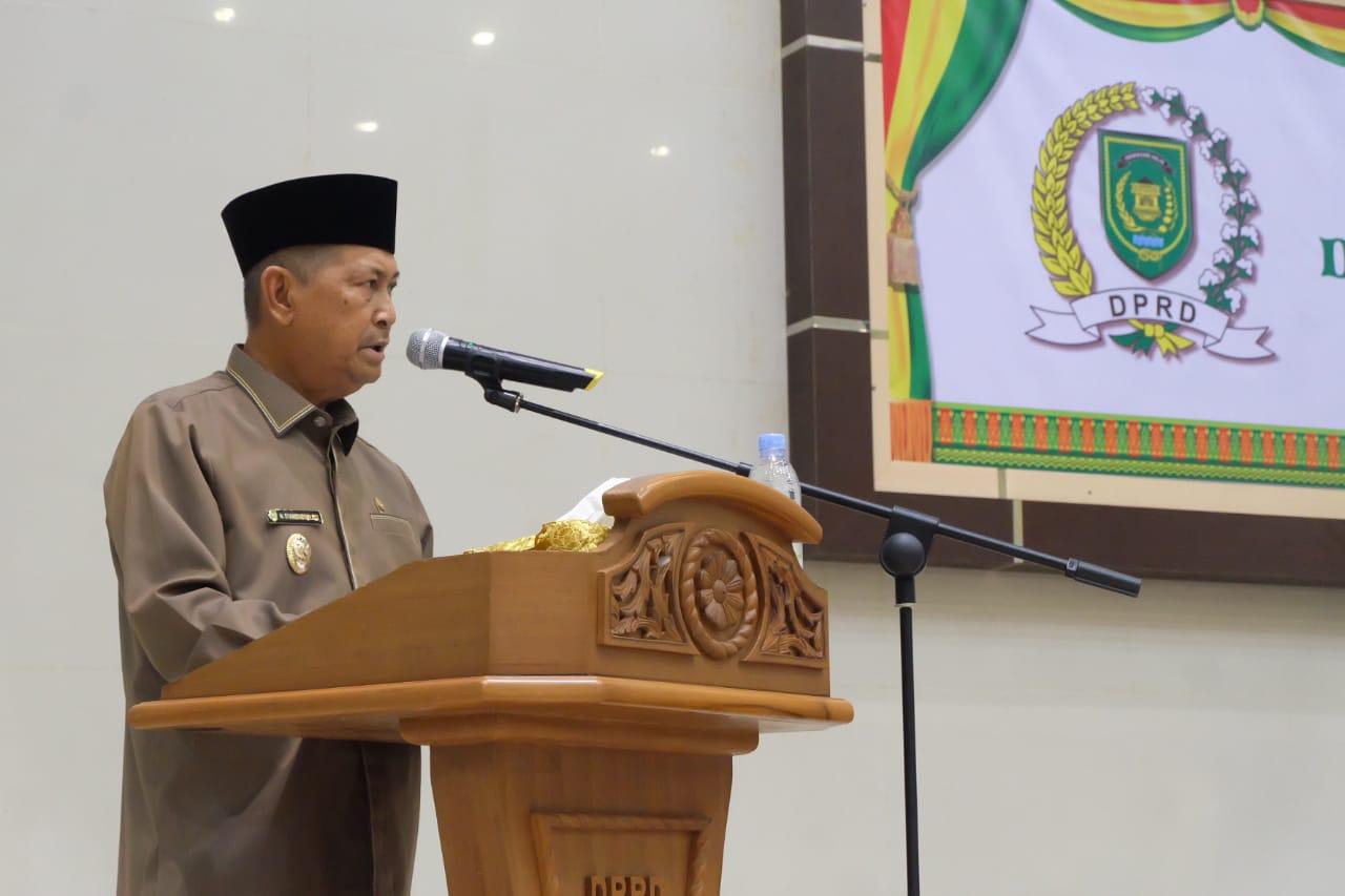 Wakil Bupati Indragiri Hilir, H Syamsuddin Uti