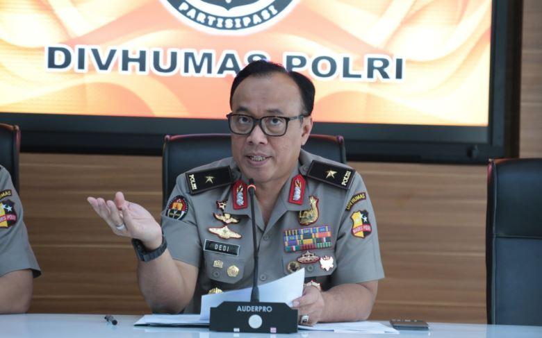 Kepala Biro Penerangan Masyarakat Divhumas Polri Brigjen Pol Dedi Prasetyo
