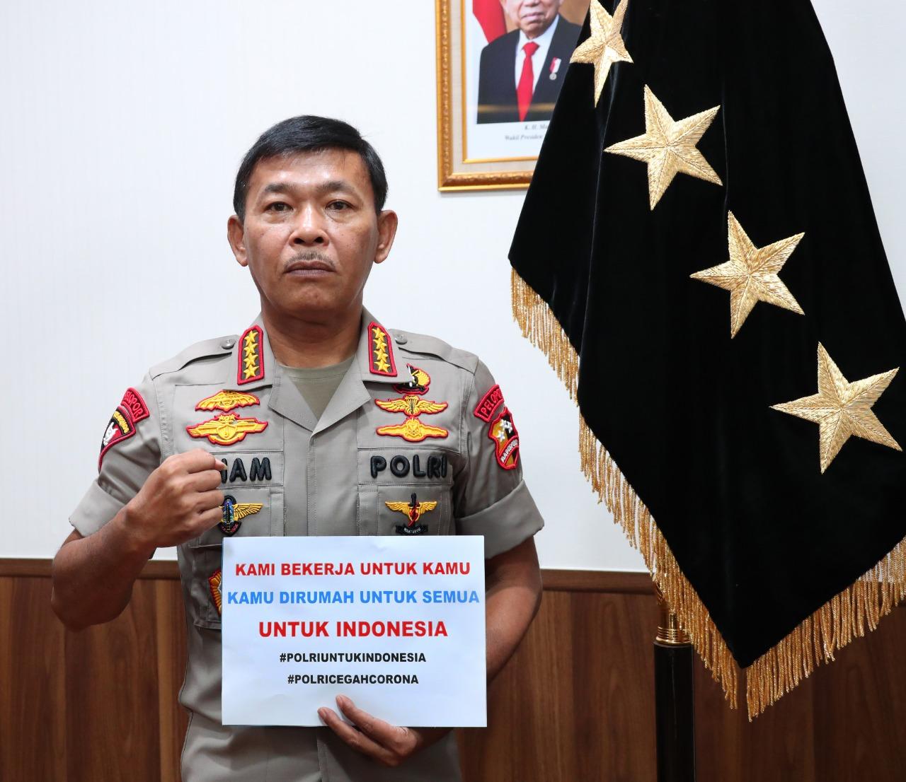Jenderal Polisi, Drs. Idham Azis, M.Si