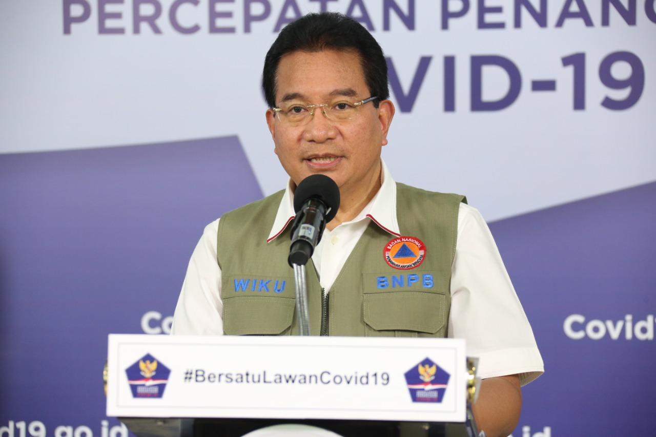 Ketua Tim Pakar Gugus Tugas Nasional atau Gugus Tugas Percepatan Penanganan COVID-19 (GTTPC19), Prof. Wiku Adisasmito