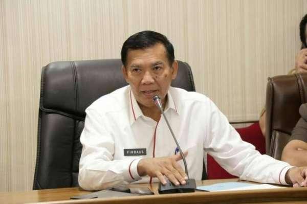 Wali Kota Pekanbaru, DR.H. Firdaus, ST. MT