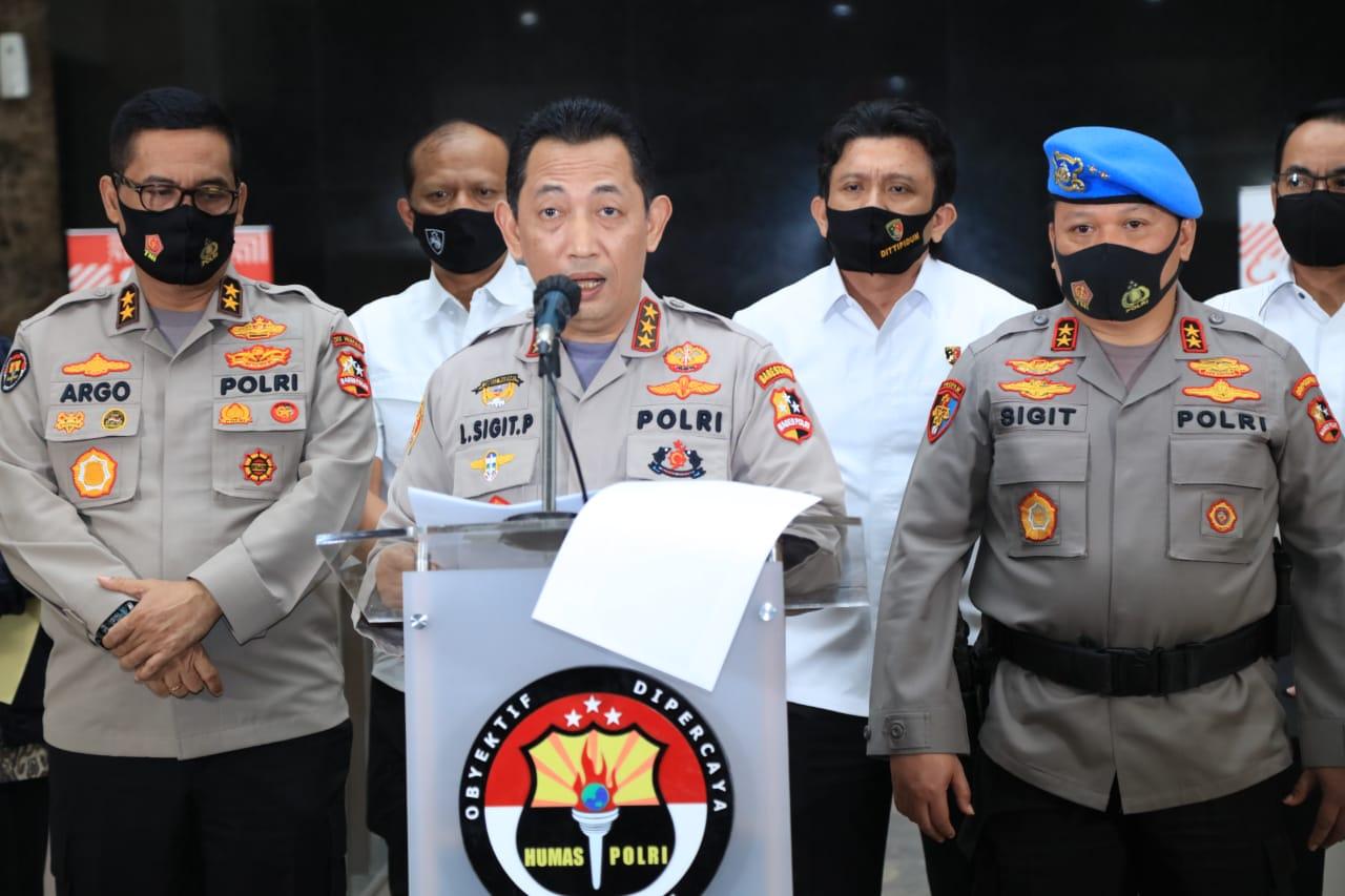 Kabareskrim Polri, Komjen Listyo Sigit Prabowo, Senin (27/7/2020).