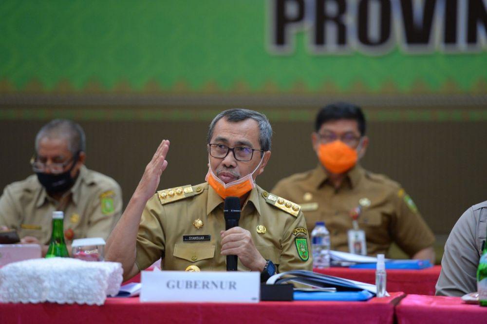 Gubernur Riau (Gubri) Syamsuar, Senin (13/07/2020).