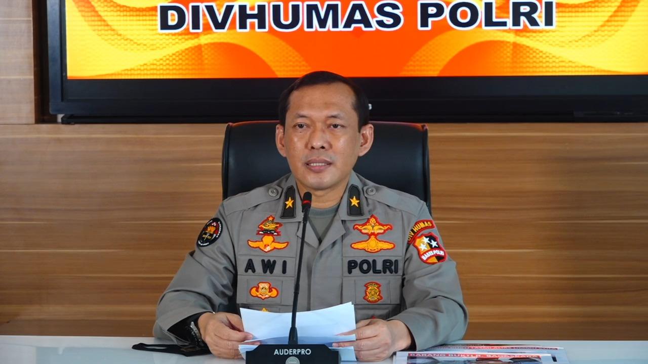 Ket foto: Karo Penmas Divisi Humas Polri Brigjen Awi Setiyono, Kamis (27/8/2020).
