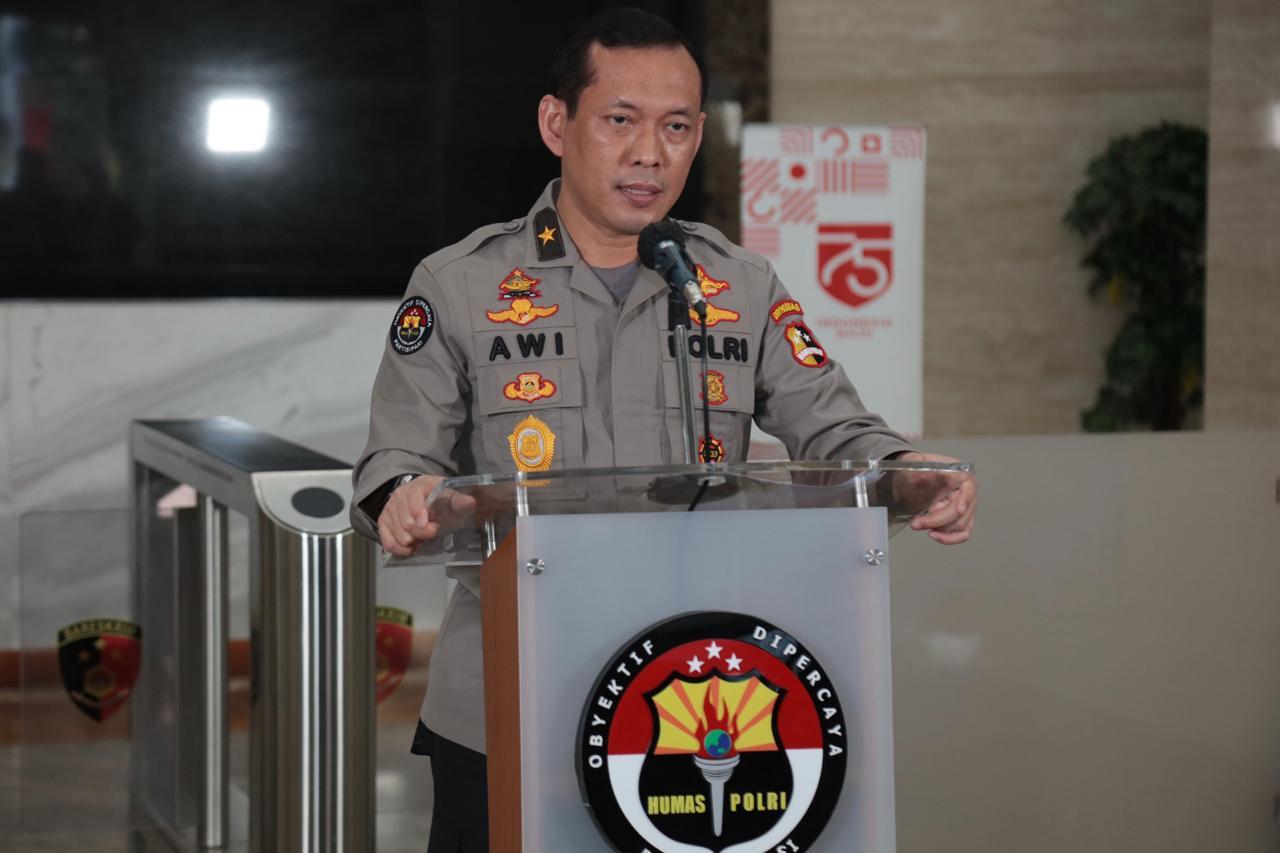 Ket foto: Karo Penmas Divisi Humas Polri, Brigjen Awi Setiyono