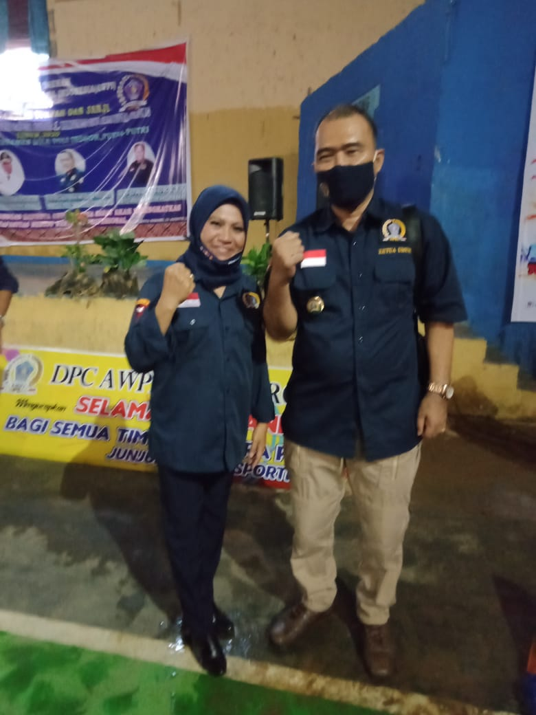 Ketua Umum (Ketum) Asosiasi Wartawan Profesional Indonesia (AWPI), Hengki Ahmad Jazuli