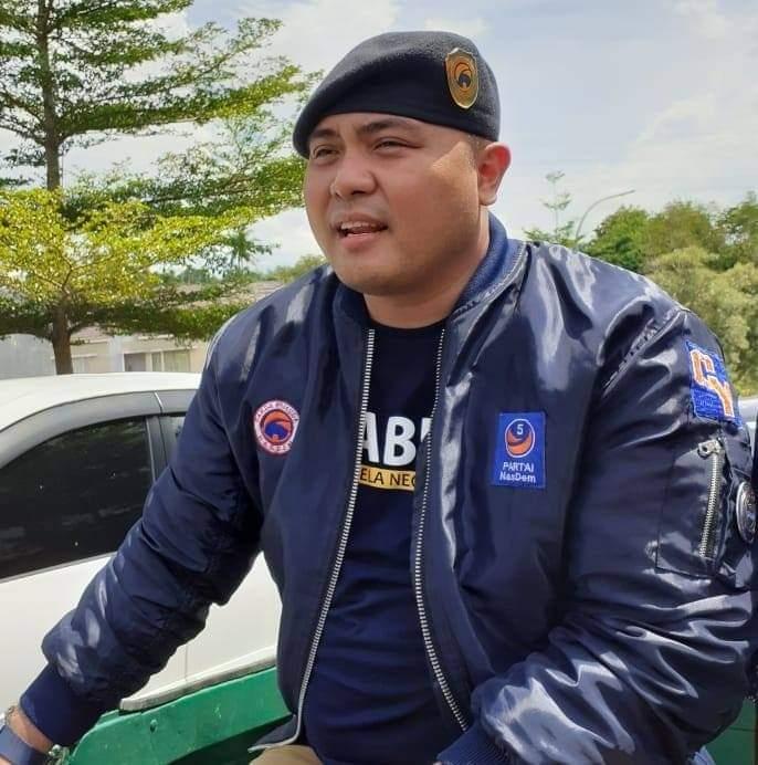Ket foto: Wakil Sekretaris DPW Partai Nasdem Provinsi Sulawesi Utara (Sulut) Christian Yokung.